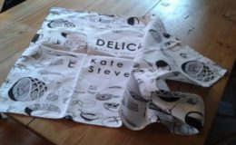 Devine Music breaks into the tea towel market...